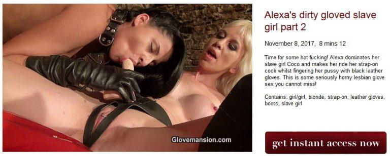 Alexas dirty gloved slave girl part 2 768x308