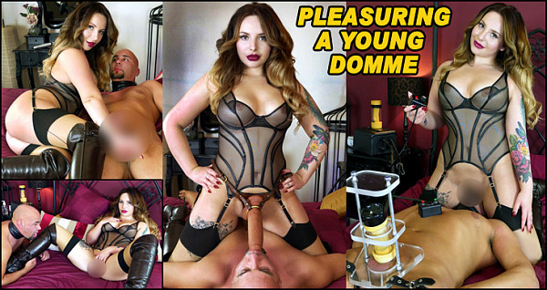 Pleasuring A Young Domme