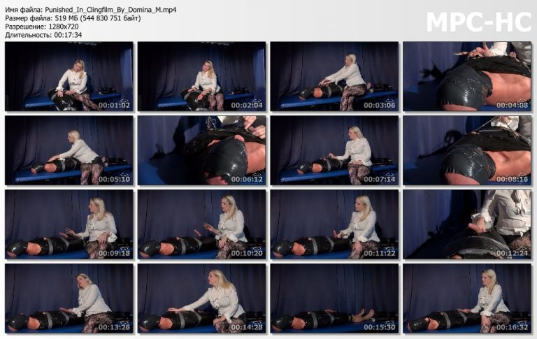 Punished In Clingfilm By Domina M.mp4 thumbs 768x485