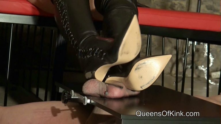 Leather Boots Ball Abuse.mp4 snapshot 09.14.859 768x432