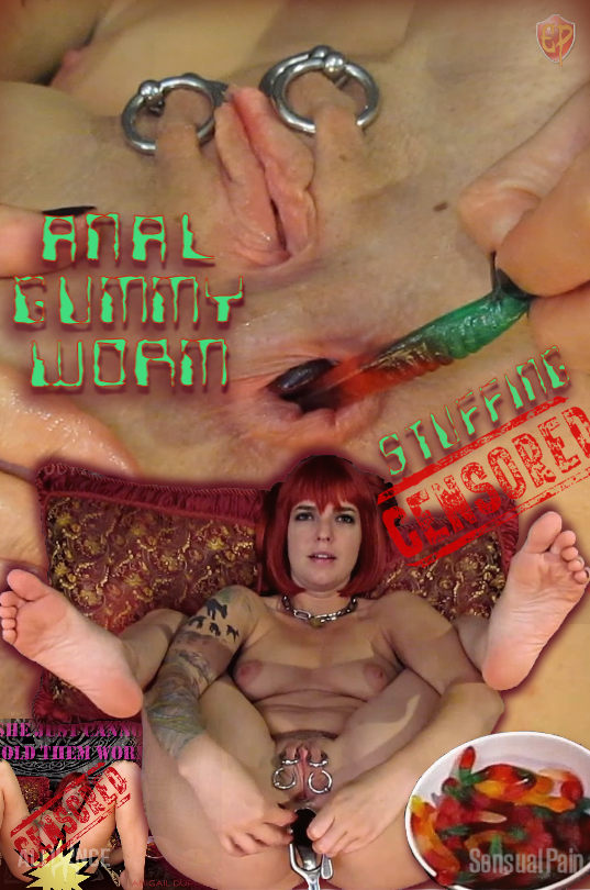 SP April 22 2020 Anal Gummy Worm Stuffing Censored Abigail Dupree