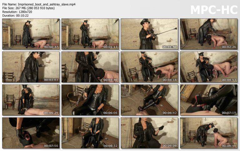 Imprisoned boot and ashtray slave.mp4 thumbs 768x485