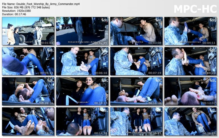 Double Foot Worship By Army Commander.mp4 thumbs 768x485