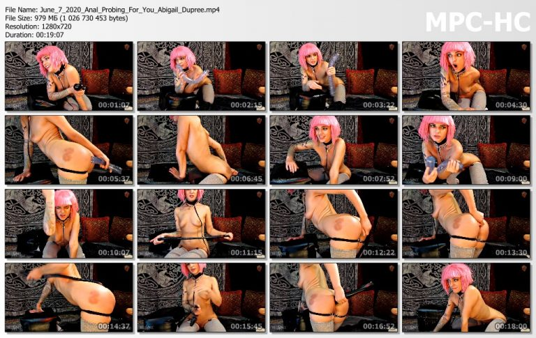 June 7 2020 Anal Probing For You Abigail Dupree.mp4 thumbs 768x485