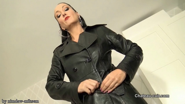 Cum for My vintage leather trench coats.mkv snapshot 05.29.461