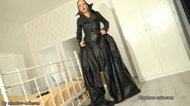 Cum for My vintage leather trench coats.mkv snapshot 08.07.221