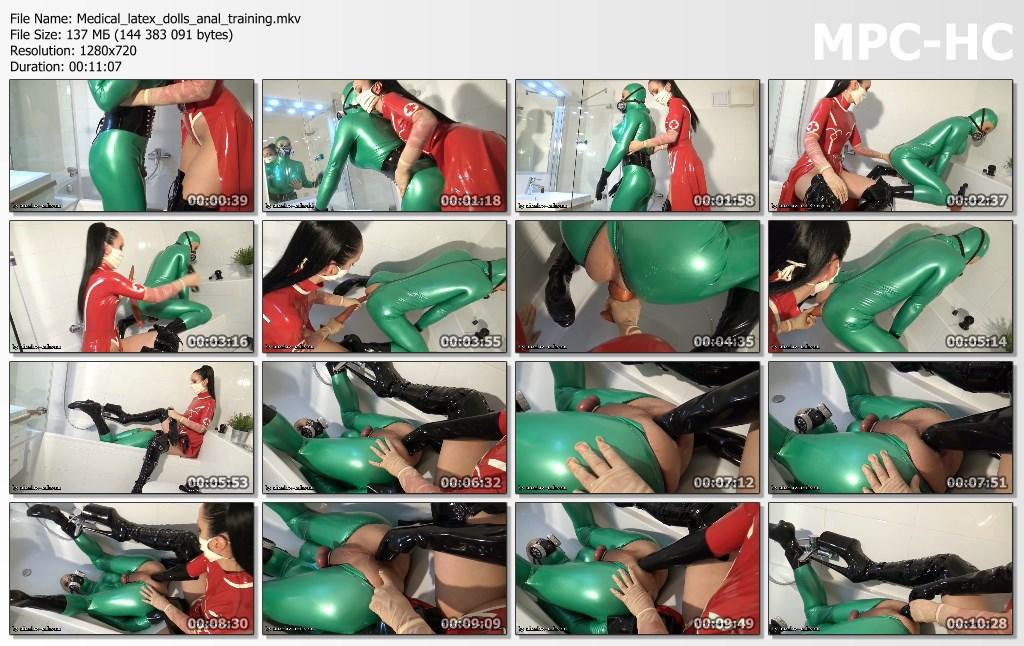 Medical latex dolls anal training.mkv thumbs