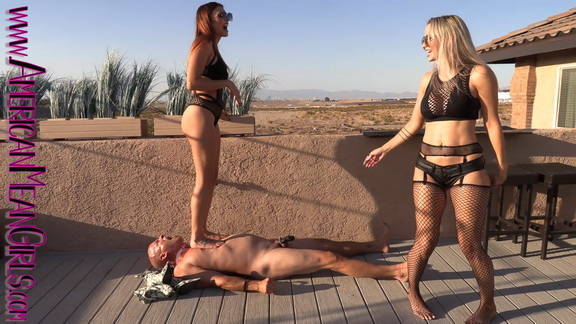 Fishnet Fuck up Double Domme Trample.mp4 snapshot 05.56.405