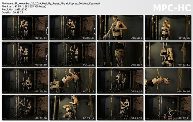 SP November 20 2019 Feel My Ropes Abigail Dupree Goddess Kyaa.mp4 thumbs 768x489