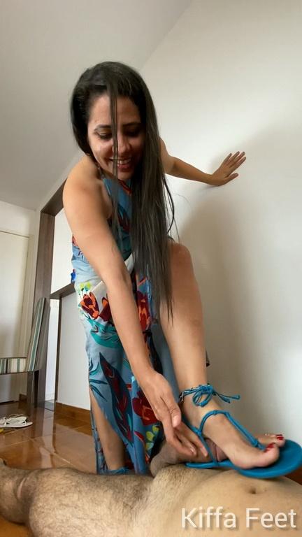 Sexy blue Schutz sandals CBT EP 8.mp4 snapshot 09.12.750
