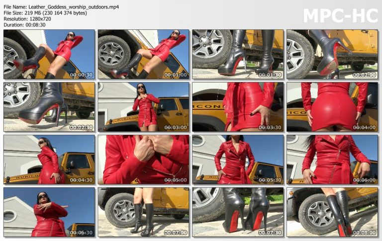Leather Goddess worship outdoors.mp4 thumbs 768x485
