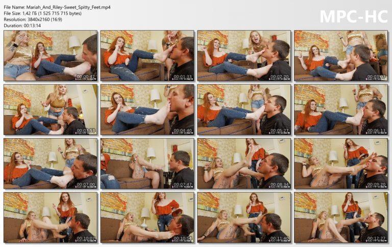 Mariah And Riley Sweet Spitty Feet.mp4 thumbs 768x485