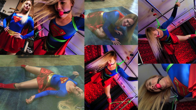 xt sthbea Flight Of Supergirl