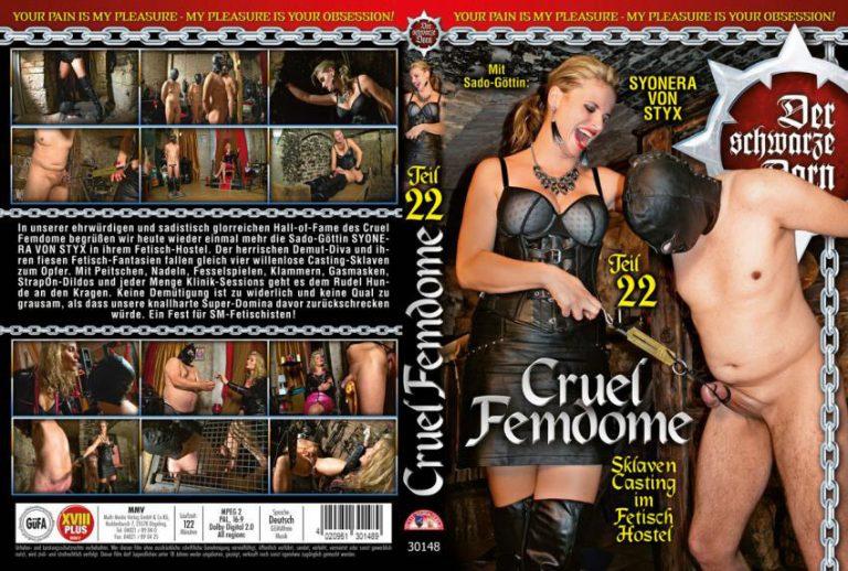Cruel Femdome 22 Sklaven Casting im Fetish Hostel 768x518